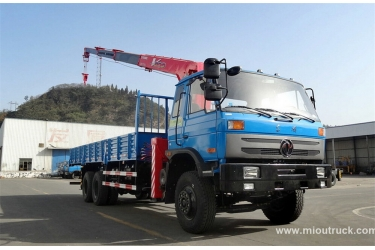 Leading Brand Dongfeng 153 truck mounted crane factory directly sales