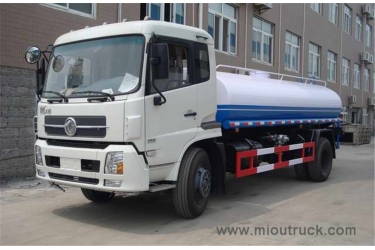 New Dongfeng professional export 10000L stainless steel water tank truck