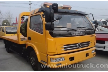 Factory New Donfgeng JDF5071TQZ Road recovery vehicle tow wrecker car carrier truck for sale