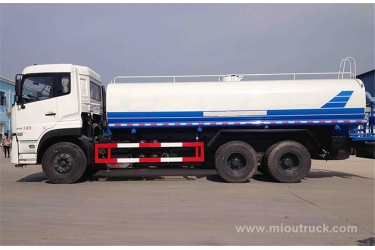 New design Dongfeng 16 ton tank 10m3 water bowser water truck, water sprinkler truck