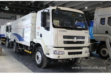 New product china Dongfeng Chenglong 4*2 road sweeping truck