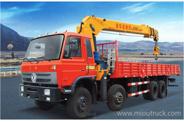 SANY canre 8*4  Derrick truck Dongfeng lorry crane