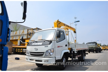 T-king  8 tons 4X2  truck mounted  crane china supplier with good quality and price for sale