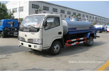 Used  Dongfeng xbw water tank truck 4x2 water truck