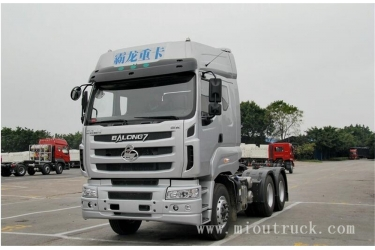China hot sale 6x4 10-wheel drive EURO 4 emission standard LZ4251QDCA diesel engine 40 ton 380hp trailer truck