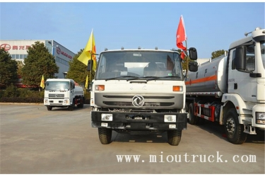 dongfeng 4x2 10m³  sewage suction truck for sale