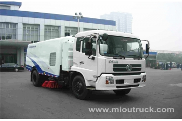 Dongfeng 4x2 road sweeping truck,highway sweeper,china road sweeper manufacturer
