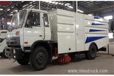 Dongfeng 5000liters dust van road sweeping truck , sweeper vehicles for sale