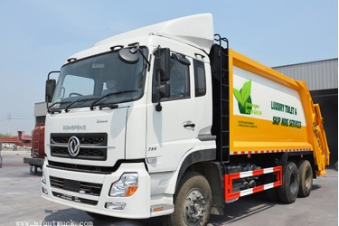 dongfeng kinland 6X4 20 CBM garbage truck