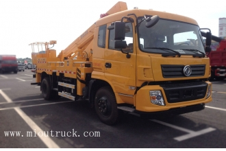 China 18m lifting height dongfeng 4*2 high altitude operation truck  SZD5110JGKD4 factory