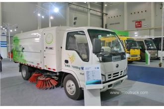 China 2016 new 68hp 4X2  electric Street and road sweeper factory