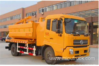 China 4x2 dongfeng  High Pressure Cleaning Sewage Suction Truck factory