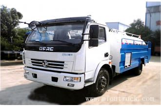 China CLW5080GQX4 dongfeng4*2  5CBM road clearing vehicle factory