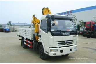 China China Famous Brand Dongfeng Perfect 4x2 10 ton knuckle boom truck mounted crane factory