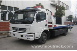 China China Leading Brand Dongfeng  wrecker towing truck  road wrecker truck factory