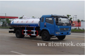 La fábrica de China China brand Dongfeng  sewage suction truck fecal suction truck