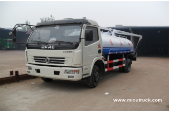 China China famous brand Dongfeng 4x2 sewage suction truck fecal suction truck factory