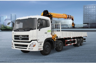 China DONGFENG  8x4 Truck mounted crane for sale factory