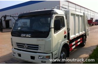 China Discount price factory sale dongfeng  4x2  compression garbage truck factory