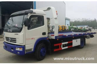 China Donfgeng Road recovery vehicle tow wrecker car carrier truck for sale factory