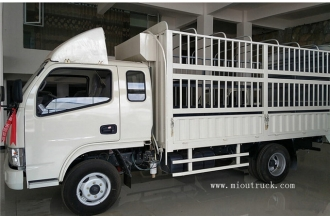 China DongFeng 102hp stake truck trailer factory