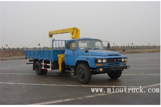 China DongFeng 3.5 Ton truck crane for sale factory