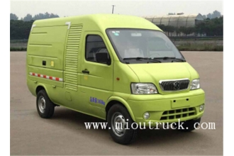 China DongFeng 4*2 Pure electric van cargo truck for sale factory