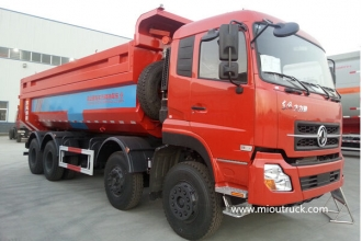 China DongFeng  8x4 12 wheeler dump truck and tipper truck factory