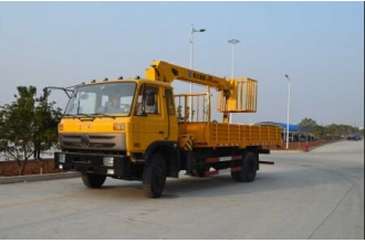 China DongFeng Aerial work crane 4X2 Aerial work crane Diesel Aerial work machinery for sale factory