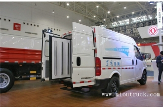 China DongFeng YuFeng 136 hp 4X2 refrigerated trucks factory