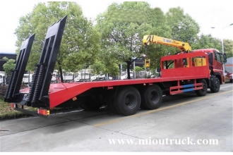 China Dongfeng 12 ton Max.Lifting Weight Truck Crane for sale factory