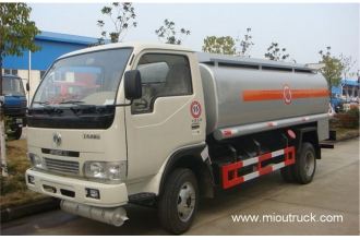 China Dongfeng 120 hp 4X2 oil tanker truck factory