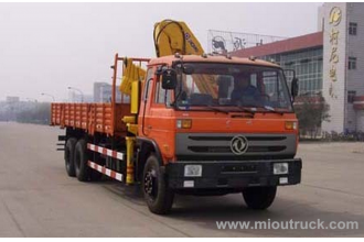 China Dongfeng 153 series 210 HP 6 x4 lorry-mounted crane (XCMG) (XZJ5200JSQD) factory