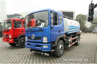 China Dongfeng 170hp 4x2 water tank truck factory
