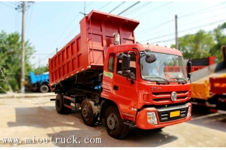 China Dongfeng 180hp 6*2 4.8m dump truck factory