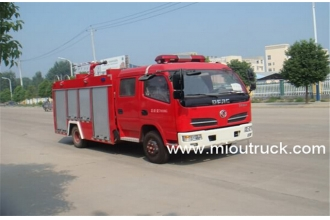 China Dongfeng  3CBM water tank fire fighting truck factory