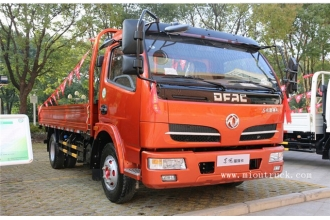 China Dongfeng 4*2 type 140 Hp 4.5 ton heavy cargo truck factory