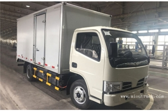 China Dongfeng 4.5T 4.1 m single row  pure electric Van factory