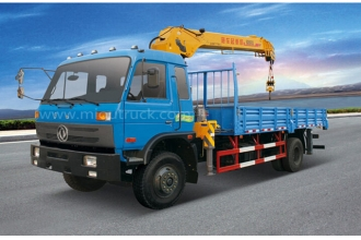 China Dongfeng 4X2 Lorry crane truck factory