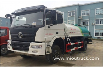 China Dongfeng 4X4  water tanker fire truck factory