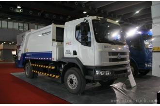 China Dongfeng 4x2 180hp  Compression garbage truck ZLJ5160ZYSLZE4 factory