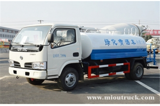 China Dongfeng 4x2 5m³  water  truck factory