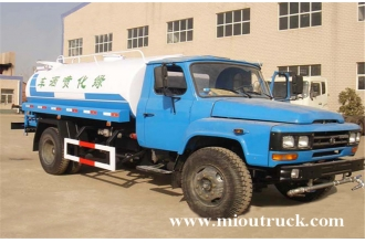 China Dongfeng 4x2 8m³ water Tank Truck for sale factory