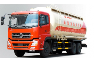 China Dongfeng 6*4 EQ5253GFLT Bulk Powder Goods Tank Truck factory