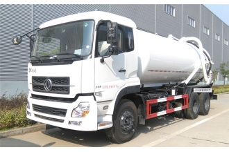 China Dongfeng 6x4 16000 Litres Vacuum Sewage Suction truck factory