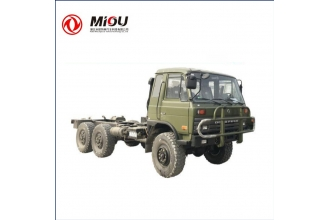 China Dongfeng 6x6  Chassis 12Ton cargo truck chassis factory