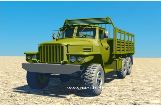 China Dongfeng 6x6 off-road military truck factory