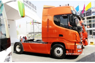 China Dongfeng Commercial Truck Heavy Duty 480 hp 4x2 tractor factory