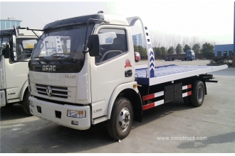 China Dongfeng Duolika platform road wrecker truck for rescuing broken cars china manufacturers factory