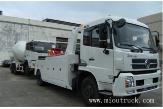 China Dongfeng Tianjin 4X2 170hp Wrecker Towing Truck factory